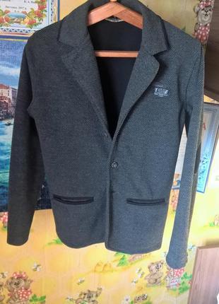 Пиджак на мальчика 9-10 лет, blueland.