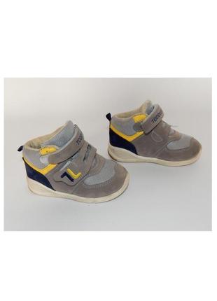 Высокие кроссовки jong golf на мальчика, ботинки, липучках, кр...