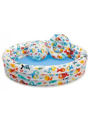 Детский надувной басейн
