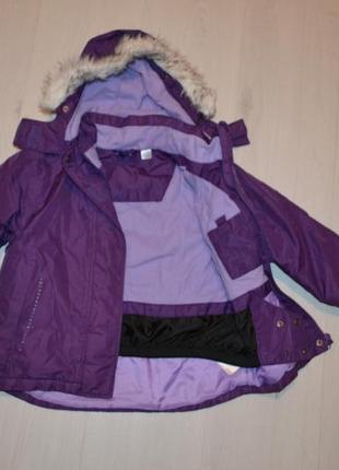 Лыжная куртка lupilu, германия рост 110-116 см