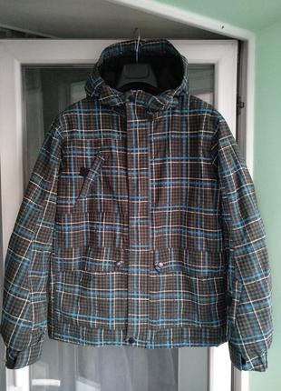 Зимняя куртка «here&тhere» лыжная, мембрана thinsulate р. 158-...