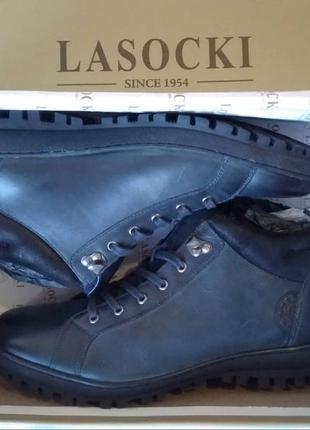 Ботинки мужские LASOCKI хайкеры кожа Размер:43 новые