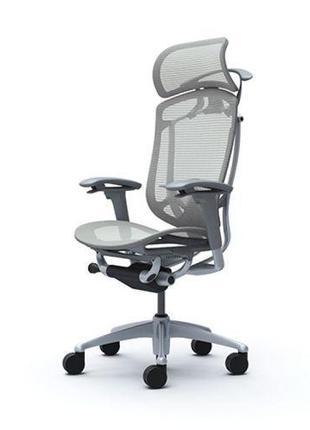 Кресло   CONTESSA SECONDA Серый каркас Light Grey