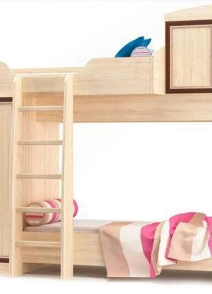 Кровать Горка двухъярусная в детскую комнату Дисней Мебель Сер...