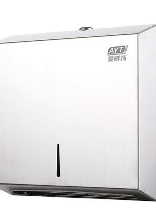Держатель бумажных полотенец AYT-001A Серый