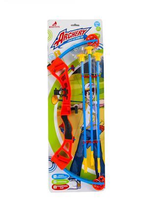 Детский лук 3681 стрелы на присосках