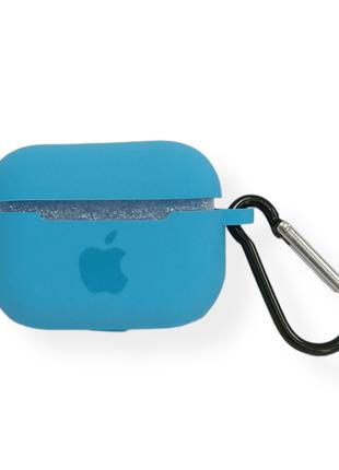 Чехол Apple AirPods Pro Silicone Case blue