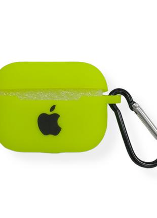 Чехол Apple AirPods Pro Silicone Case green