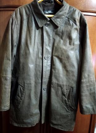 Куртка мужская натуральная кожа l