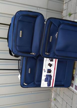 Чемодан набор набір валіз 3в1  American Tourister by Samsonite