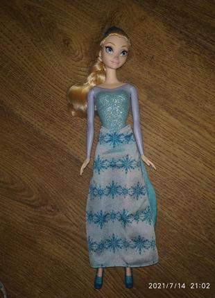 Frozen кукла эльза холодное сердце.