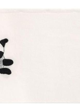 Плюшевое одеяло плед размер 60х90 lupilu германия зебра