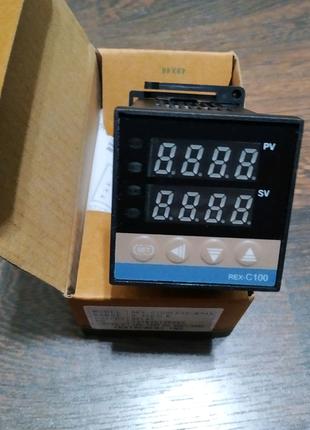 Терморегулятор ПИД-контроллер REX-C100 с релейным выходом