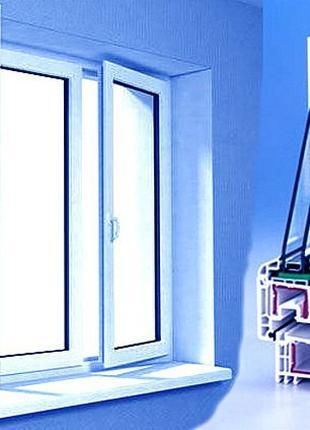 металопластиковые окна и двери, балконные рамы, балконы под ключ