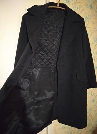 Пальто зимнее мужское теплое