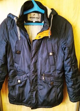 Демисезонная курточка для мальчика 146 рост