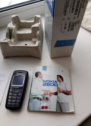 Продам мобильный телефон Nokia 2600