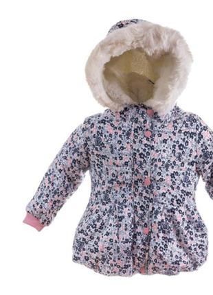 Новая! тёплая зимняя курточка пальтишко парка