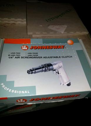 Шуруроверт пневматический Jonnesway jab-7023 jab-7023e