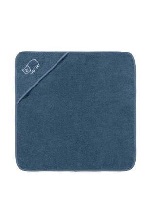 Детское махровой полотенце с капюшоном 75х75 lupilu германия