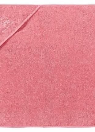 Детское махровой полотенце с капюшоном lupilu 75х75 германия