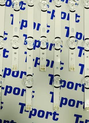 Комплект планок LG Innotek DRT 3.0 47″ A+B 9 LED 6V