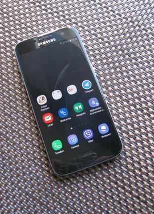 Samsung Galaxy S7 Оригинал Onyx Black 32 Gb SM-G930A