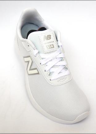 New balance 514 белые легкие женские кроссовки оригинал
