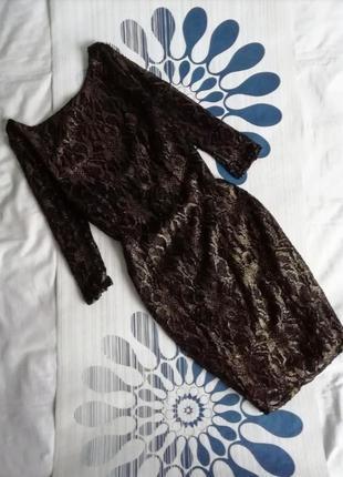 Черное золотое вечернее платье мини короткое чорна золота вечі...