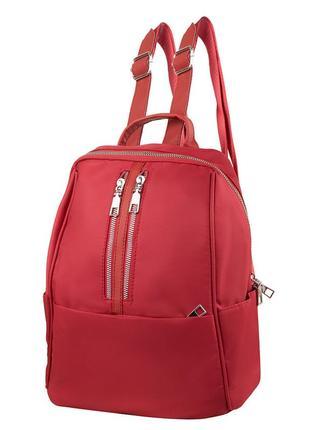 Женский городской рюкзак eterno красный