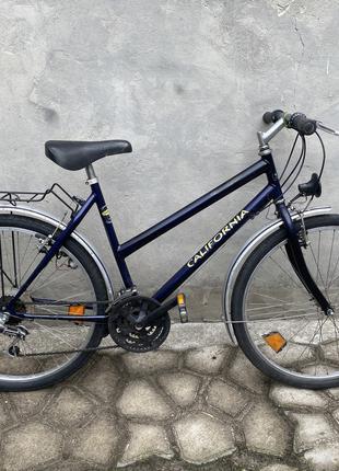 Велосипед дорожный, горный California, 21 скор, Из Германии