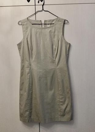 Платье песочного цвета gap