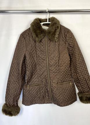 Куртка Hennes, стеганая, демисезонная