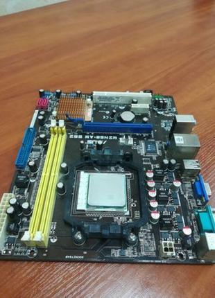 Материнская плата ASUS M2N68-AM SE2 +процессор AMD Athlon 64 x2