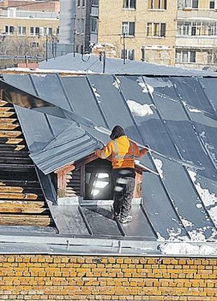 Ремонт. Крыши, козырьки. Устранение течи. Утепление квартир.