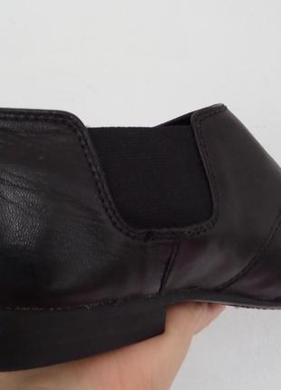 Классические черные туфли кожа от Corso Como размер 40-41,27 см