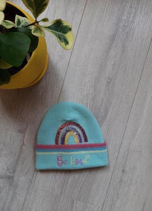 Шапка шапочка f&f 3-6 лет новая