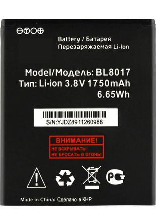 Аккумулятор к телефону Fly FS458 BL8017