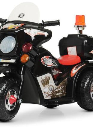 Детский мотоцикл M 4251-2 на аккумуляторе, черный