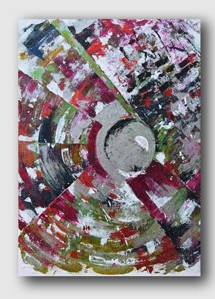 Картина абстракция Infinity 50х70 Arna Logard art