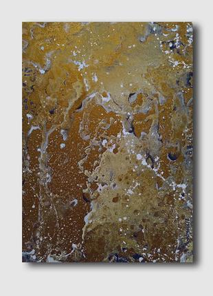 Картина абстракция Mercury 50х70 Arna Logard art