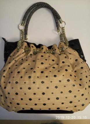 Брендовая сумка макси olivia +joy