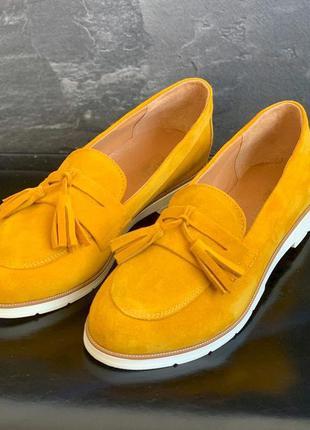 Жіночі туфлі балетки лофери