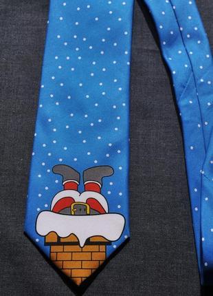 "Супер новогодний галстук ""thomas nash "" акция 1+1= 3"