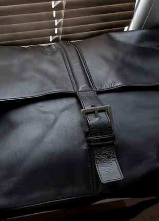Кожаная мужская бизнес сумка hugo boss original