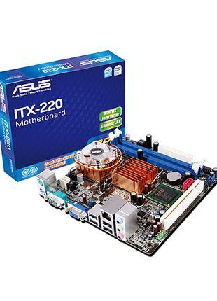 Материнская плата Asus ITX-220 + Celeron C220 (945GC, PCI)