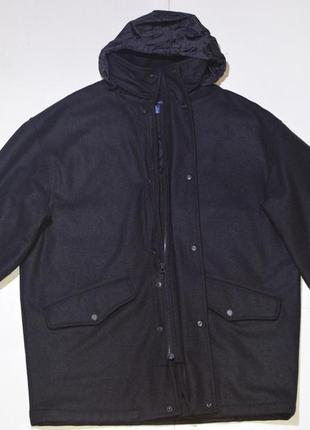 Пальто gant usa wool coat rn 0101293 casual