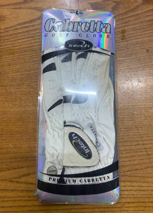 Перчатки для гольфа Intech Cabretta Левая