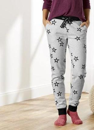Теплые женские спортивные штаны с начёсом, брюки джоггеры на ф...