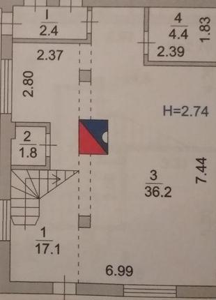 Обменяю 3-х уровневый 5-комнатный дуплекс